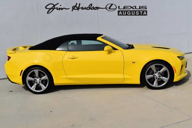 Pre-Owned 2018 Chevrolet Camaro 1SS / Convertible / Bluetooth