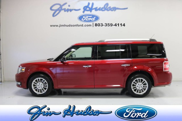 Pre-Owned 2016 Ford Flex SEL NAVIGATION LEATHER BLIND SPOT MONITORING