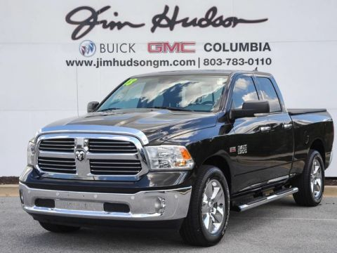 Pre-Owned 2018 Ram 1500 Big Horn 4x2 Quad Cab 6'4 Box