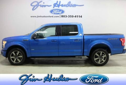 Pre-Owned 2016 Ford F-150 SuperCrew XLT 3.5 ECOBOOST SPORT APPEARANCE PACKAGE MAX TOW PACK