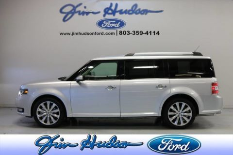 Pre-Owned 2016 Ford Flex Limited NAVI LEATHER MONOCHROMATIC ROOF SONY STEREO BLIND SPOT